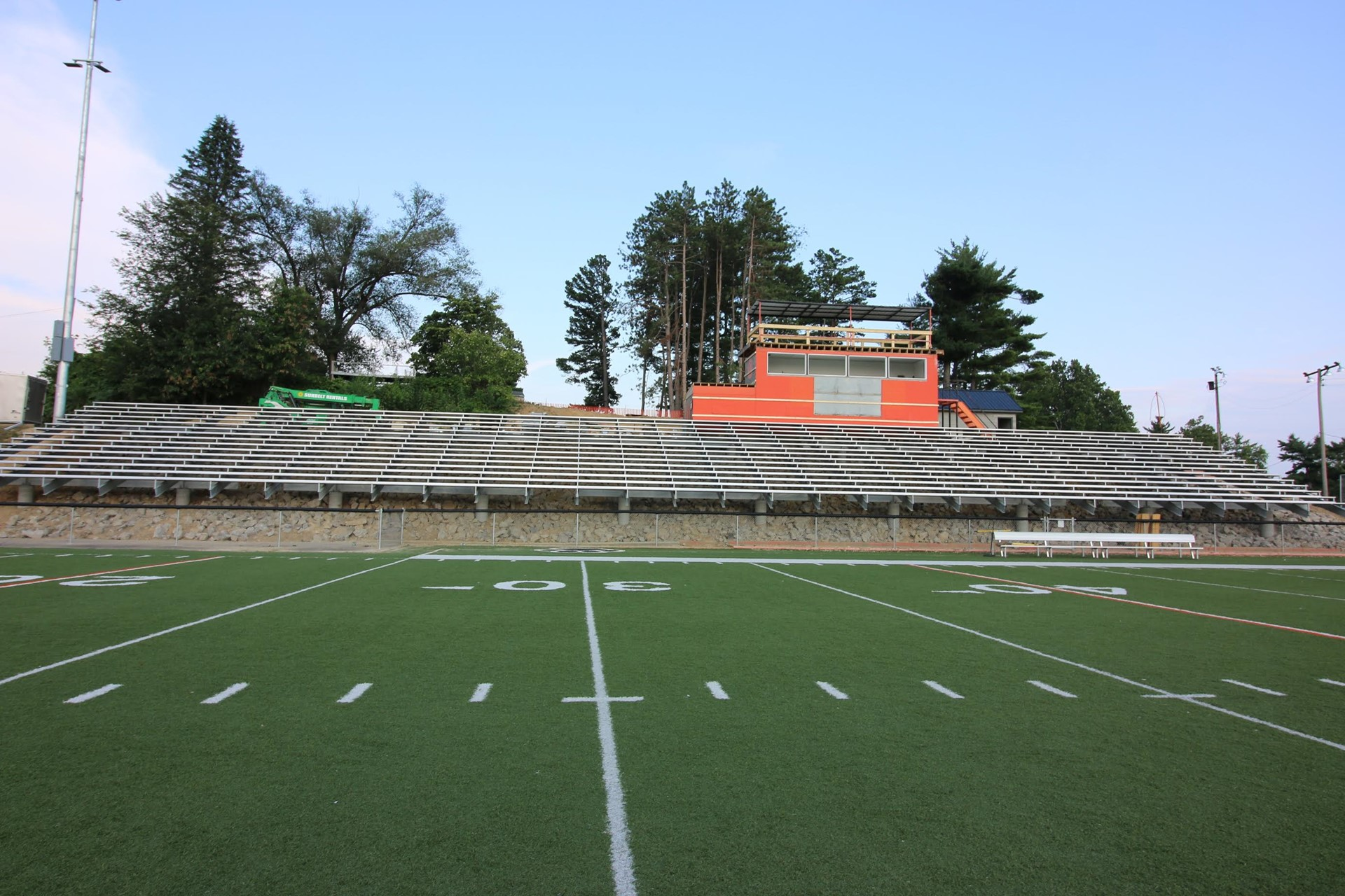 THE ROCK IS RENOVATED