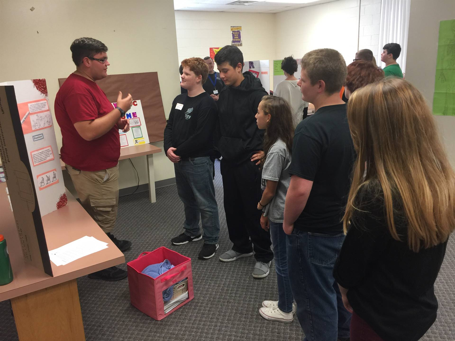 8th Grade Career Day at Tri-County Career Center