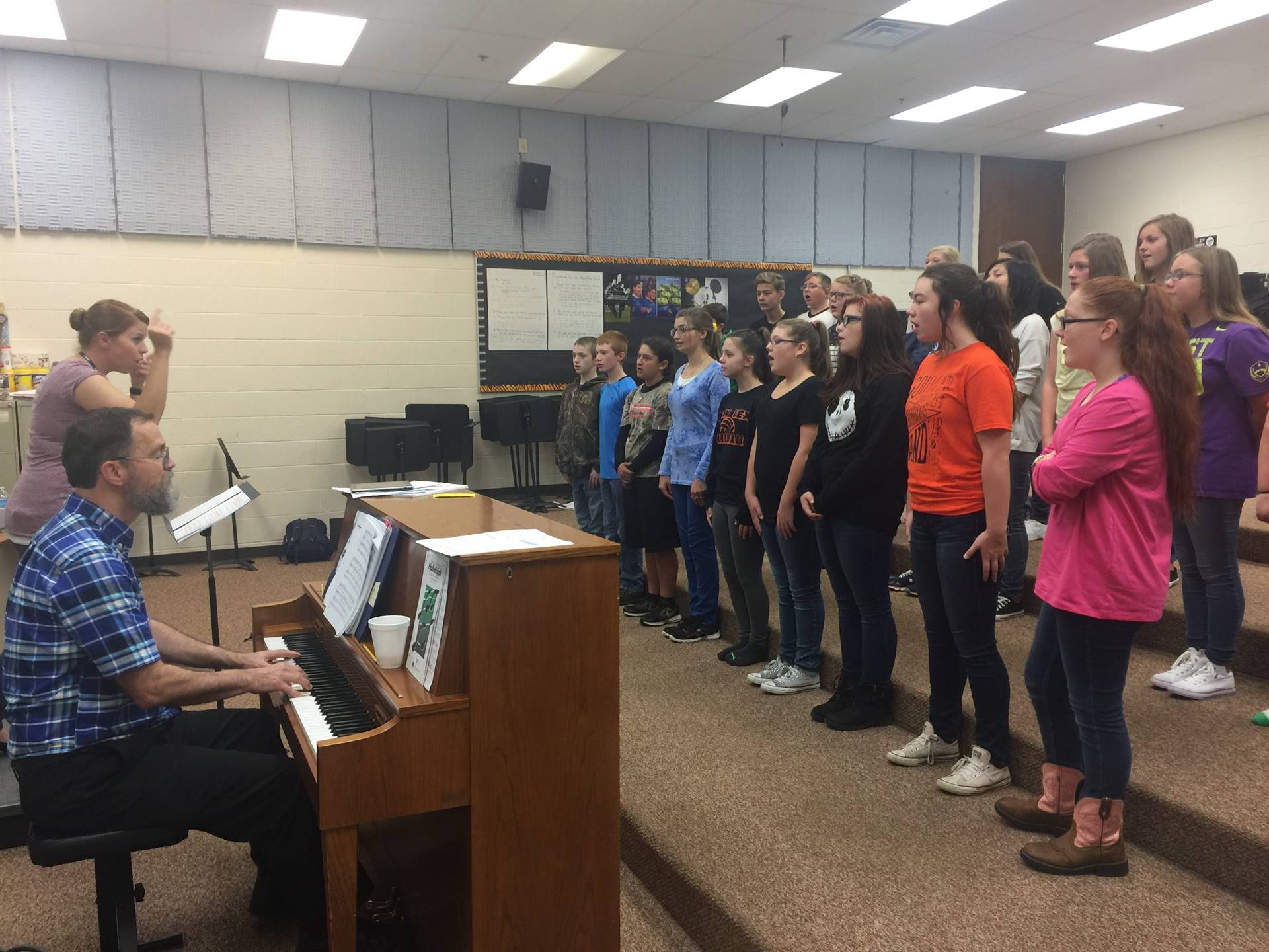 7th & 8th Grade Choir Rehearsal