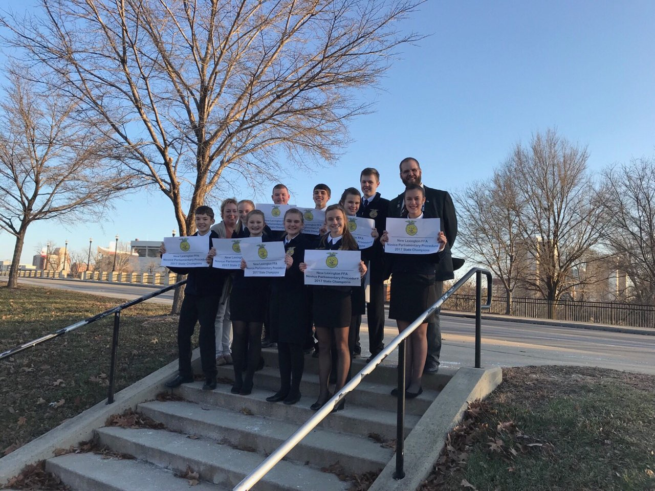 Novice Parli-Pro brings home a 3rd straight State Championship!