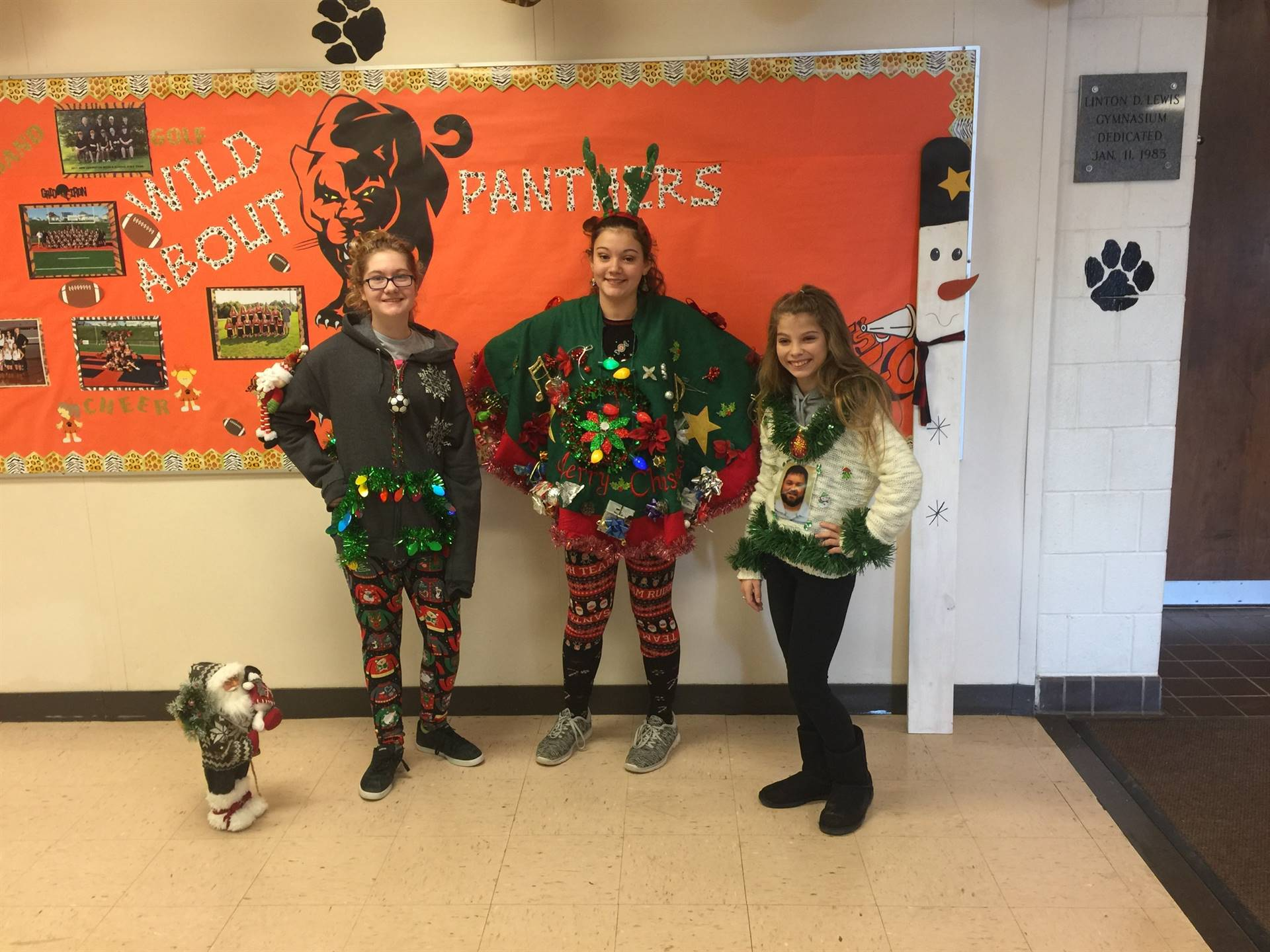 Ugly Sweater Contest Winners