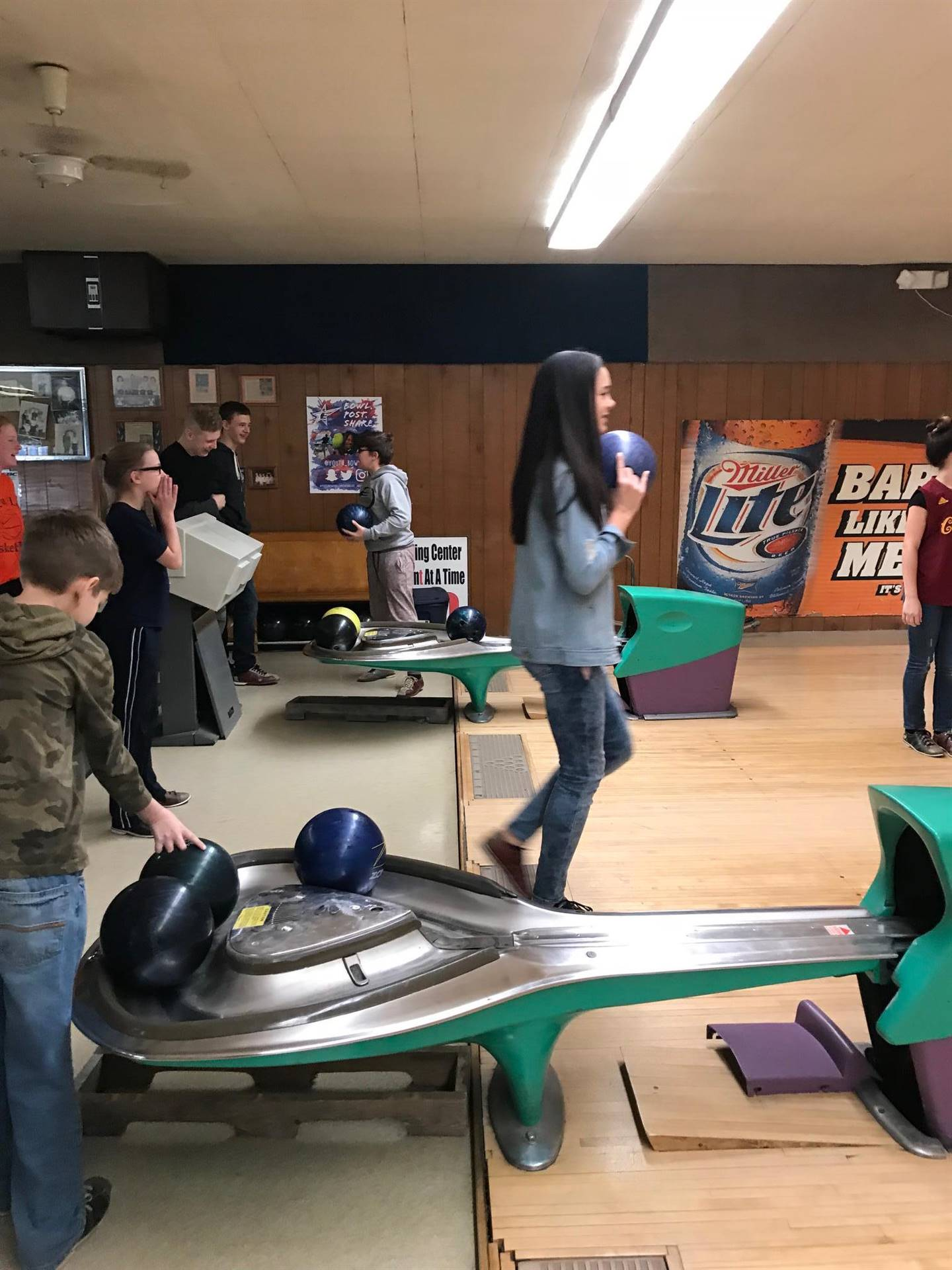 "First Quarter ""Caught with Character"" Bowling Trip"