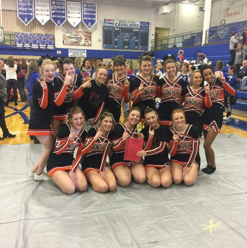 Cheerleaders qualify for state competition