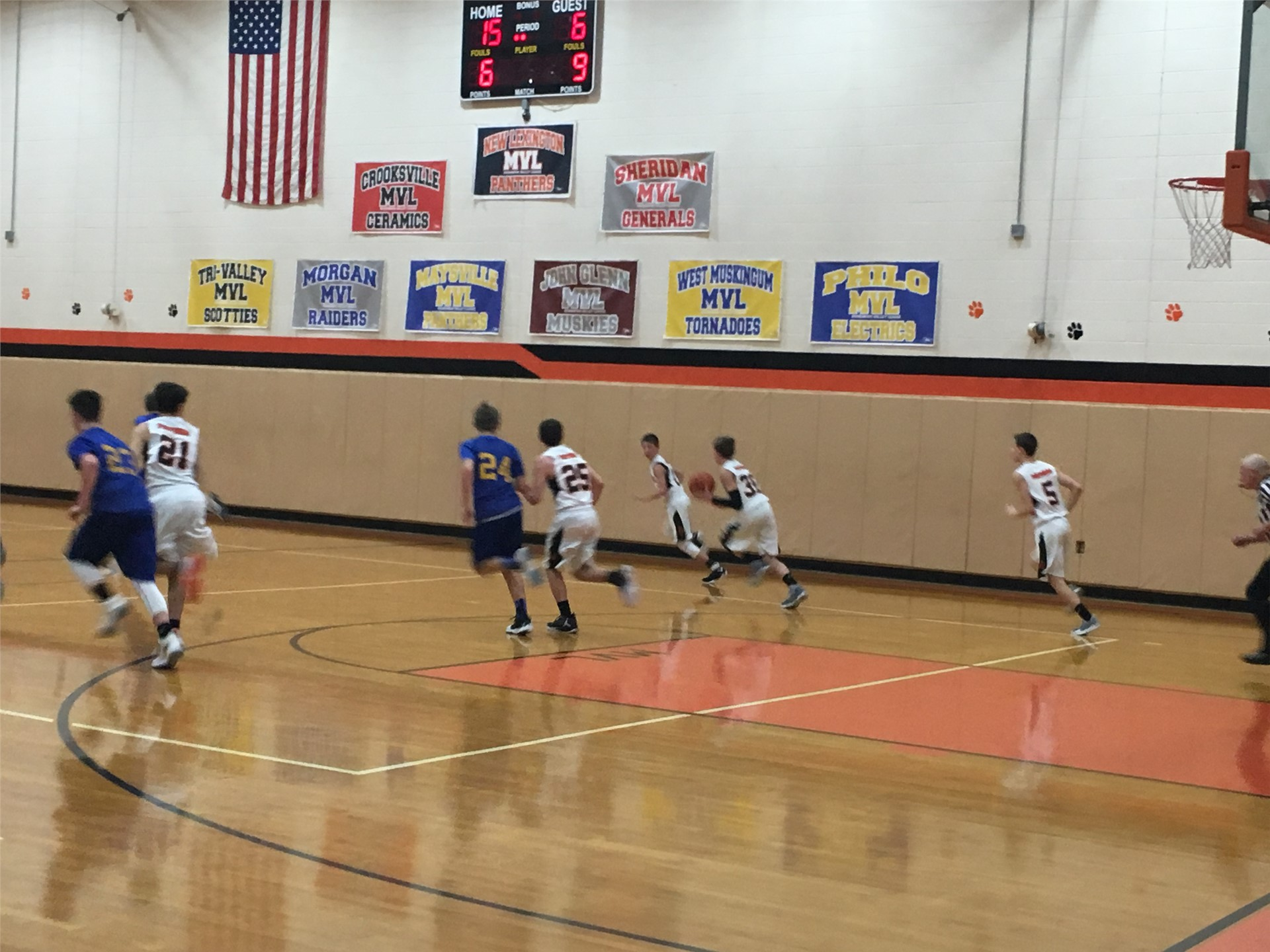 8th Grade Boys Basketball