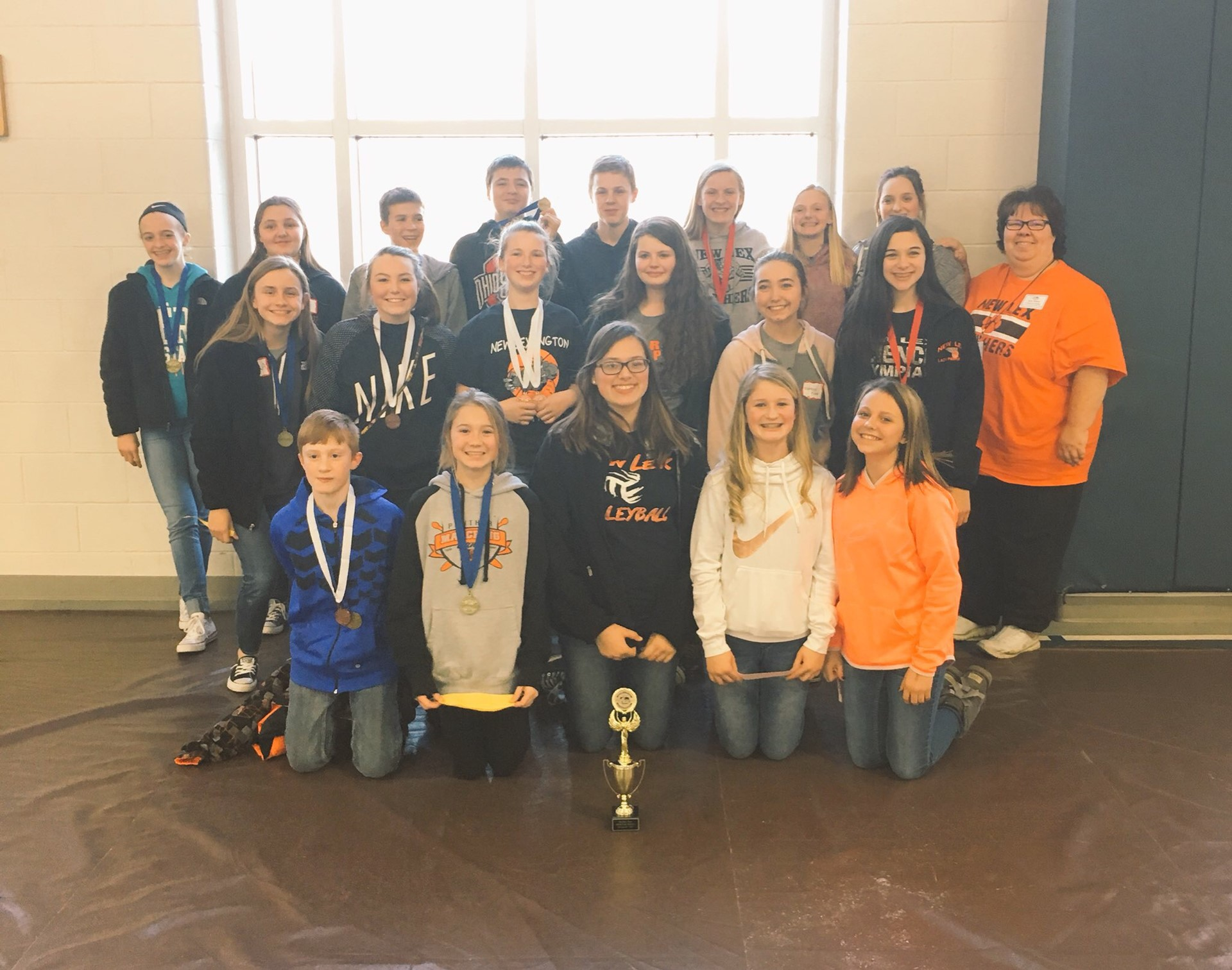Science Olympiad Moves on to State!