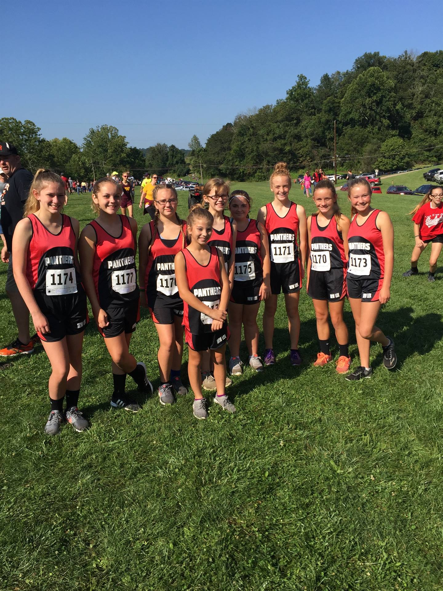 Middle School Girls CC Team @ Elizabeth S. Broughton Memorial Invitational