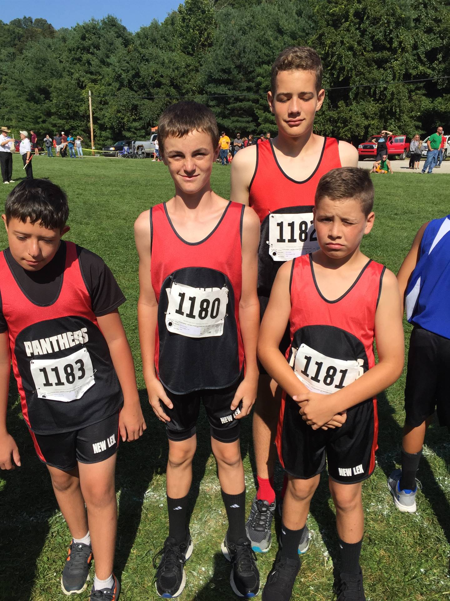 Middle School Boys CC Team @ Elizabeth S. Broughton Memorial Invitational