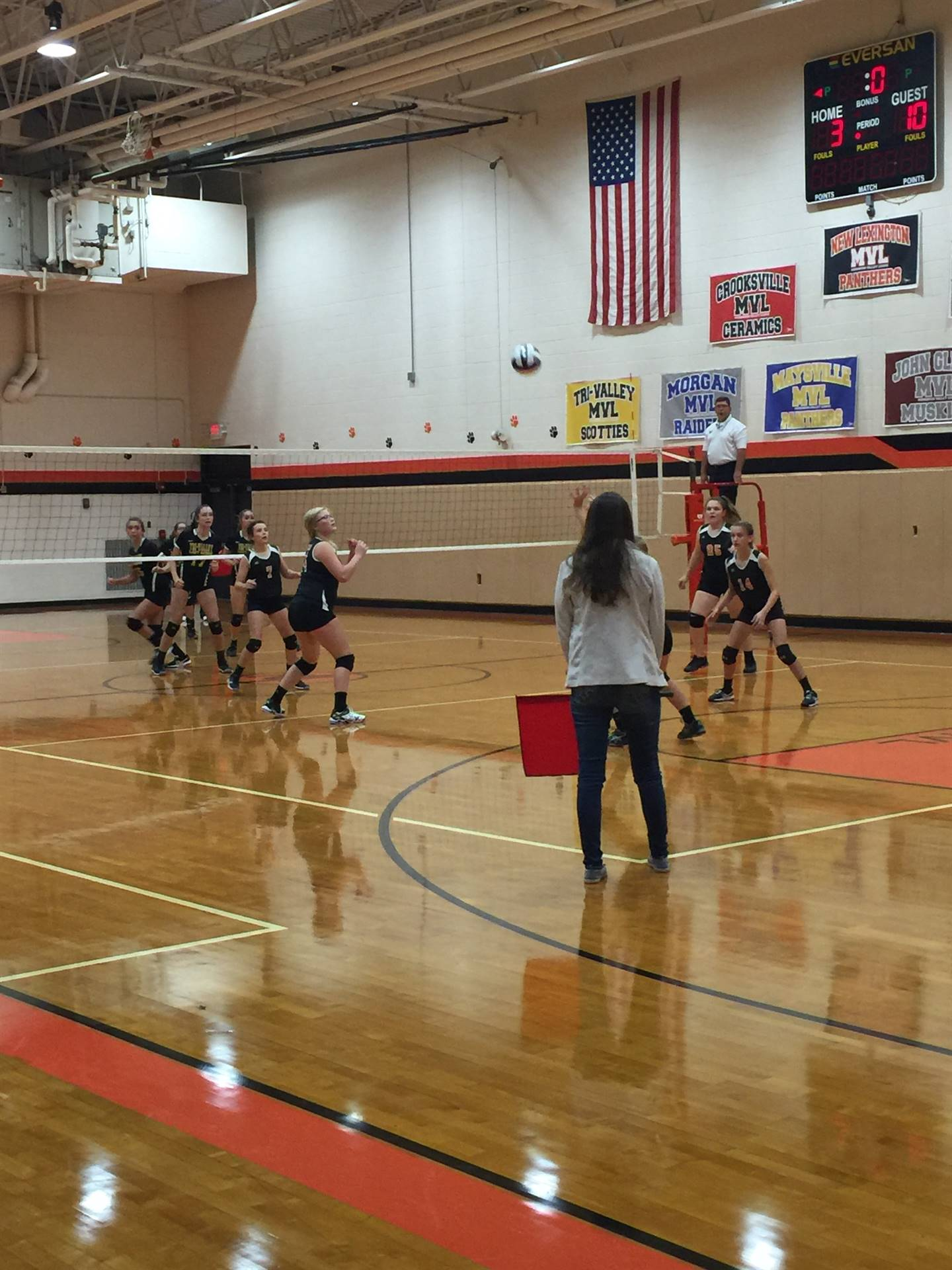 8th Grade Volleyball vs. Tri-Valley