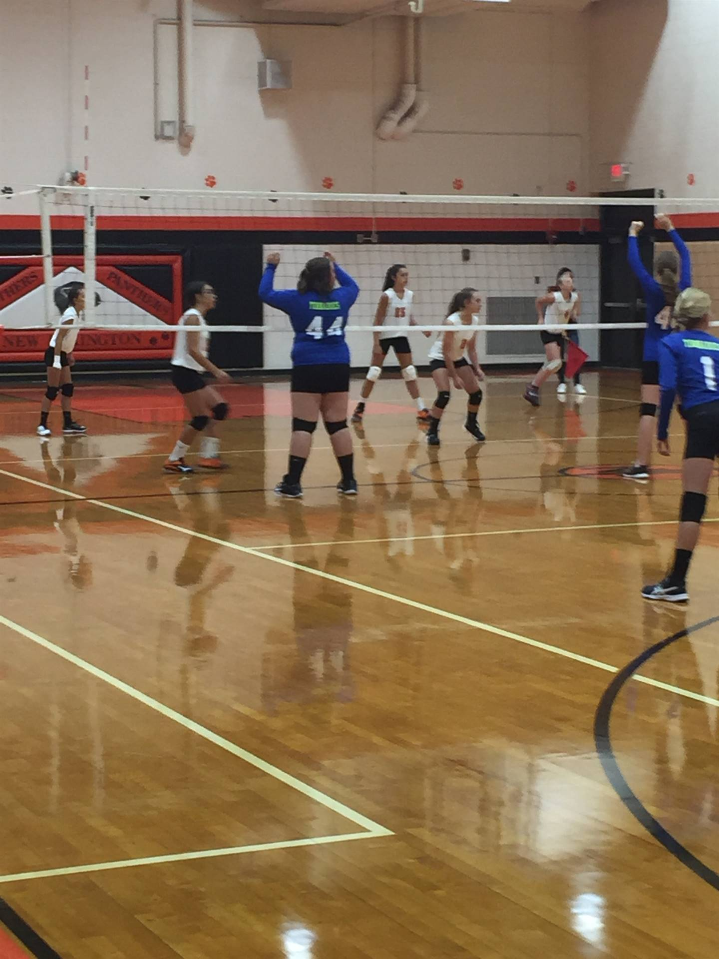 7th Grade Volleyball vs. West Muskingum