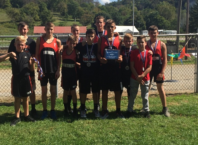 Medberry Classic Middle School Boy Champions