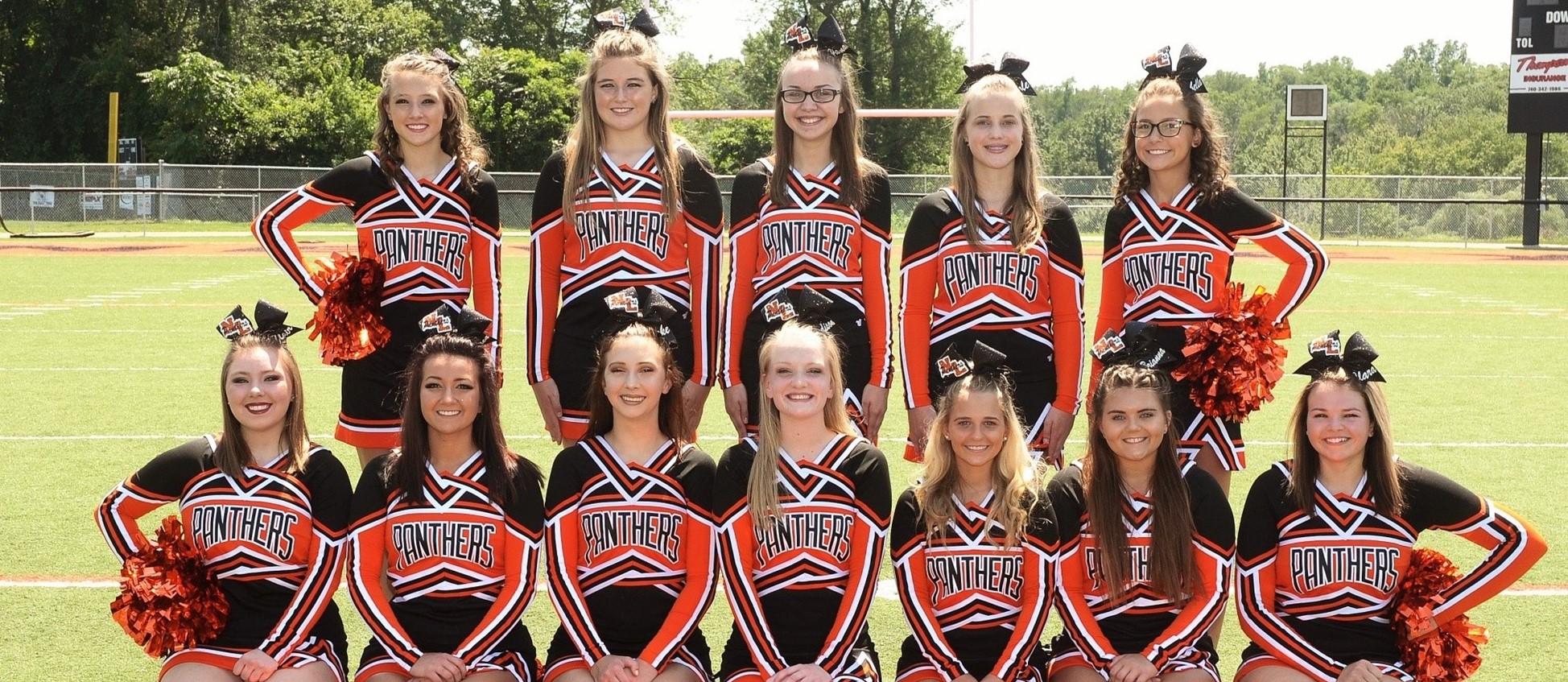 2017 Fall Cheerleaders