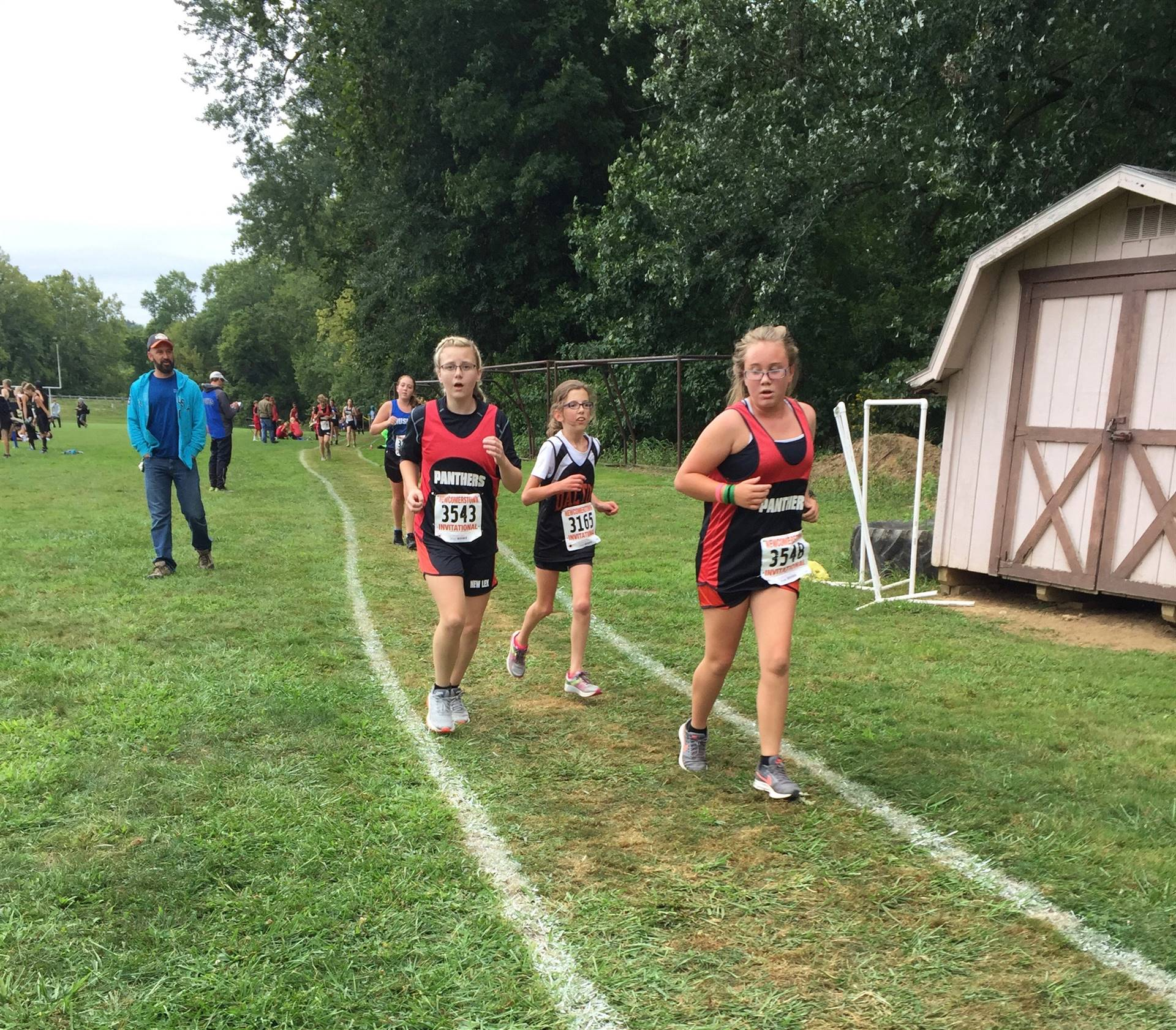 CC team @ Newcomerstown Invitational