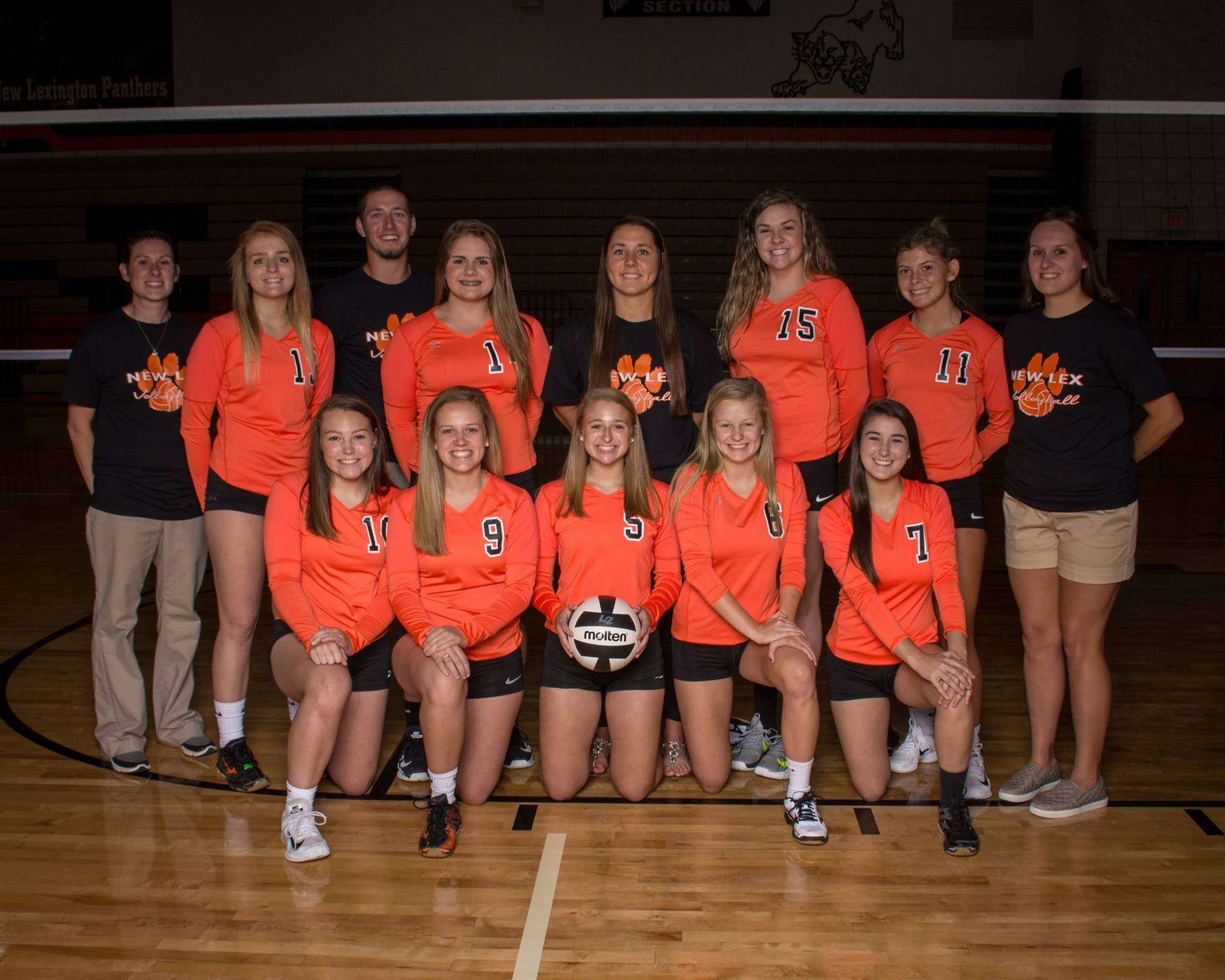 2018 Varsity Volleyball Team