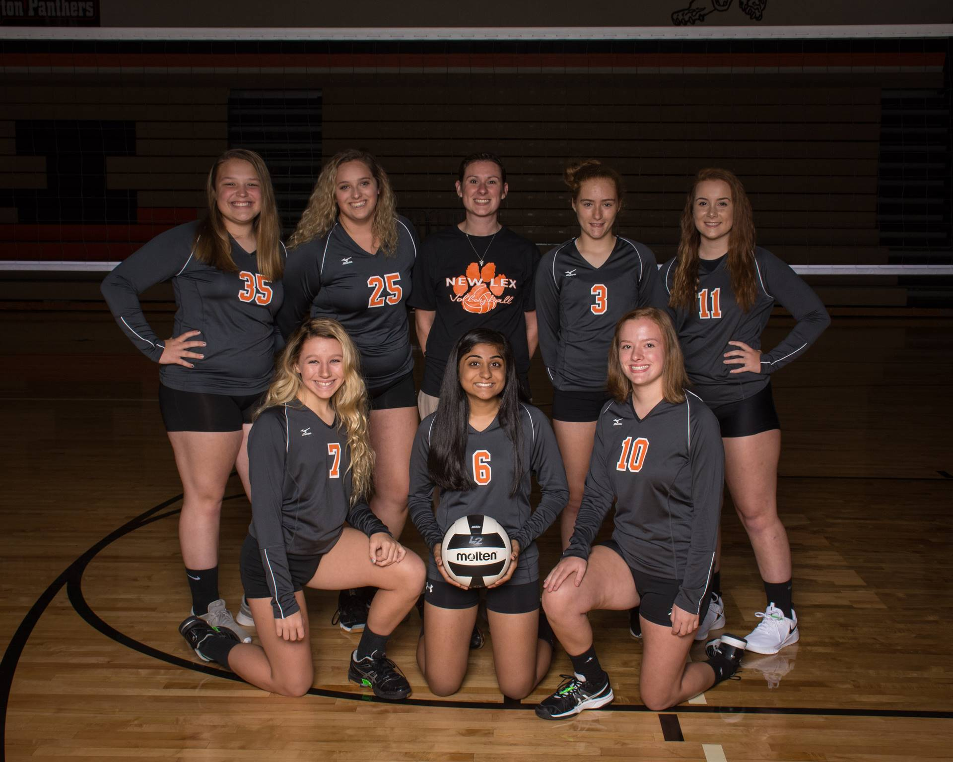 2018 JV Volleyball Team