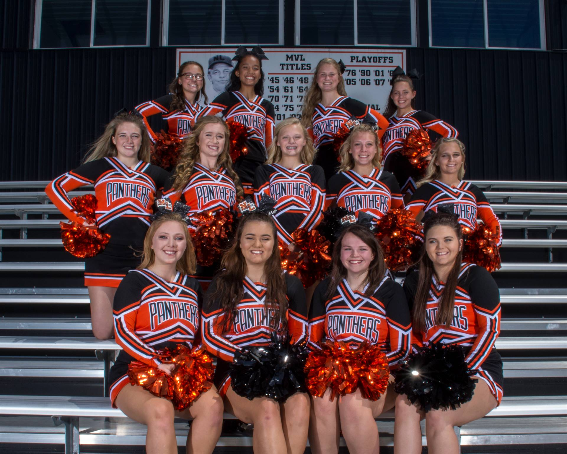 2018 Fall Cheer Squad
