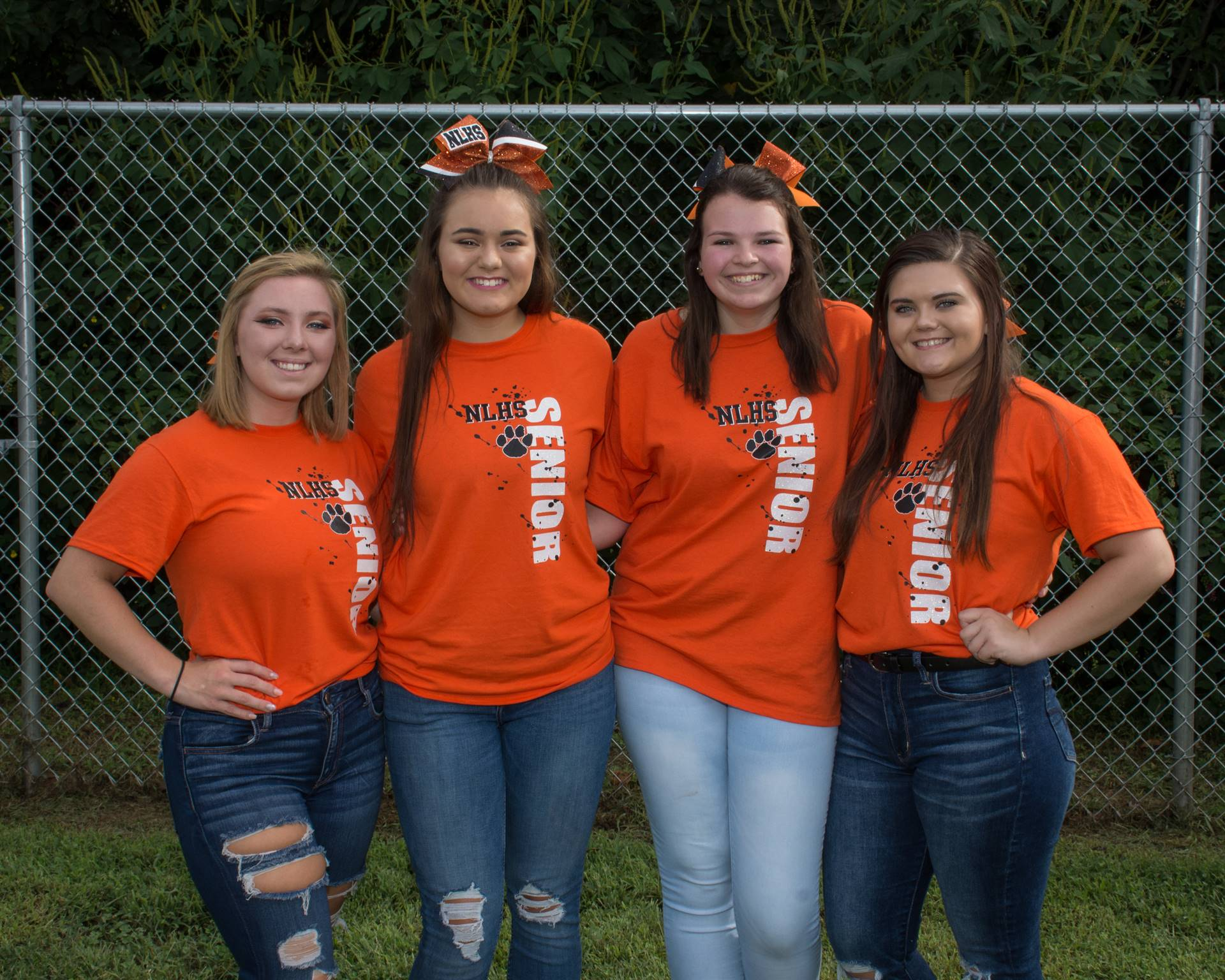 2018 Fall Cheer Seniors