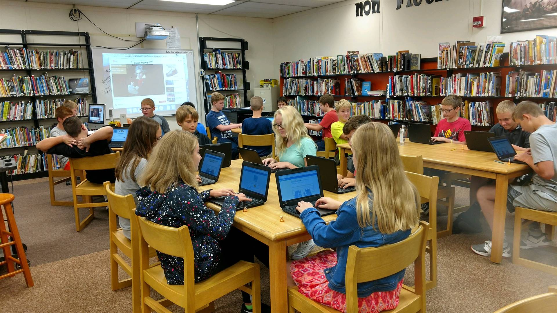 Learning Tech Skills in the Media Center