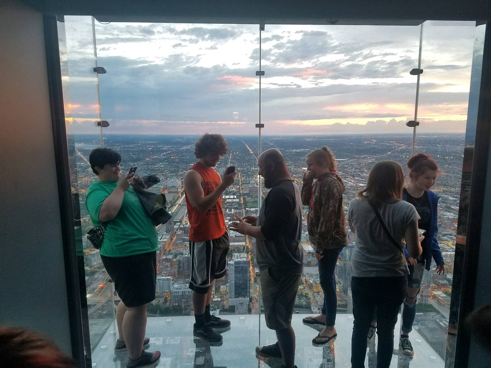 Afterschool students in the summer program visited Chicago.