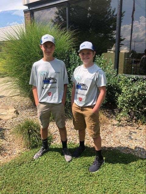 NicK Finley and Carson Kellogg