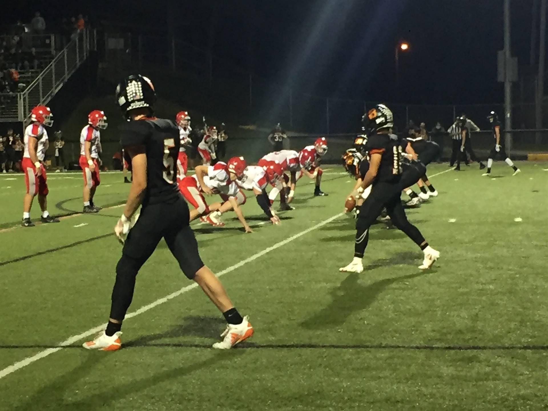 Varsity Football Payoff Win Over Westfall