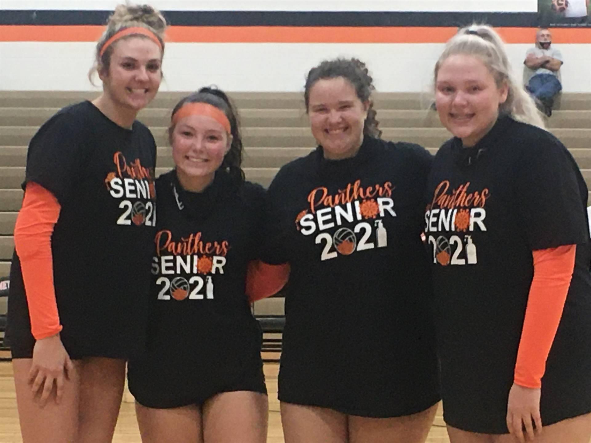 Congratulations Volleyball Seniors