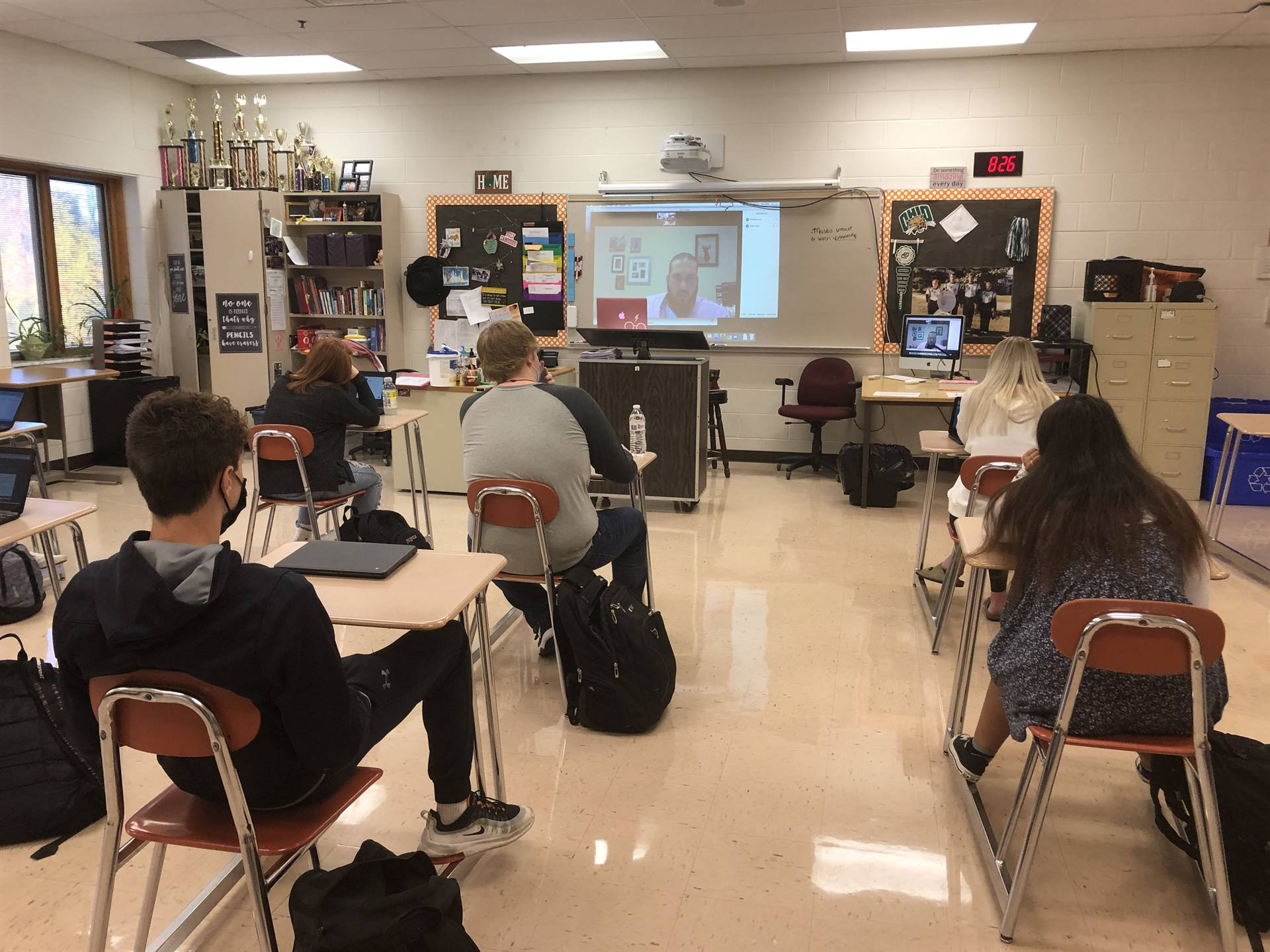 Virtual Meeting with Hocking College