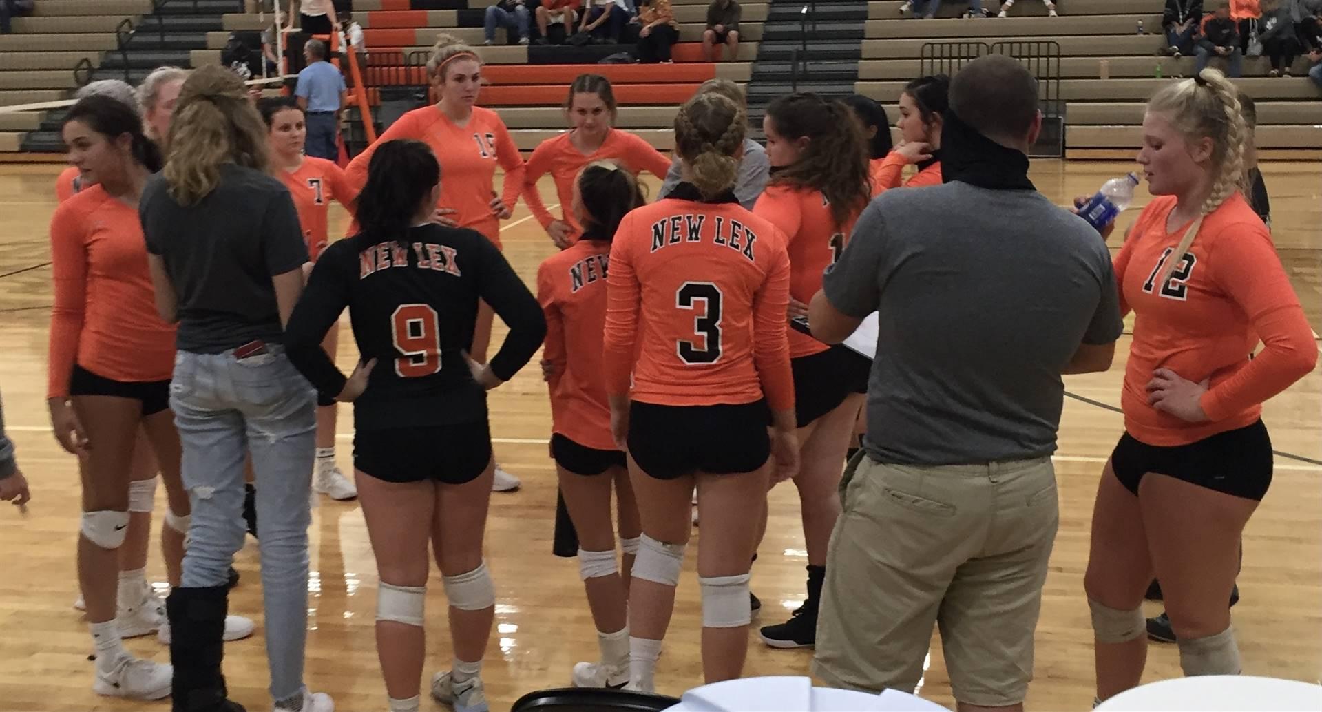 Varsity Volleyball vs Morgan