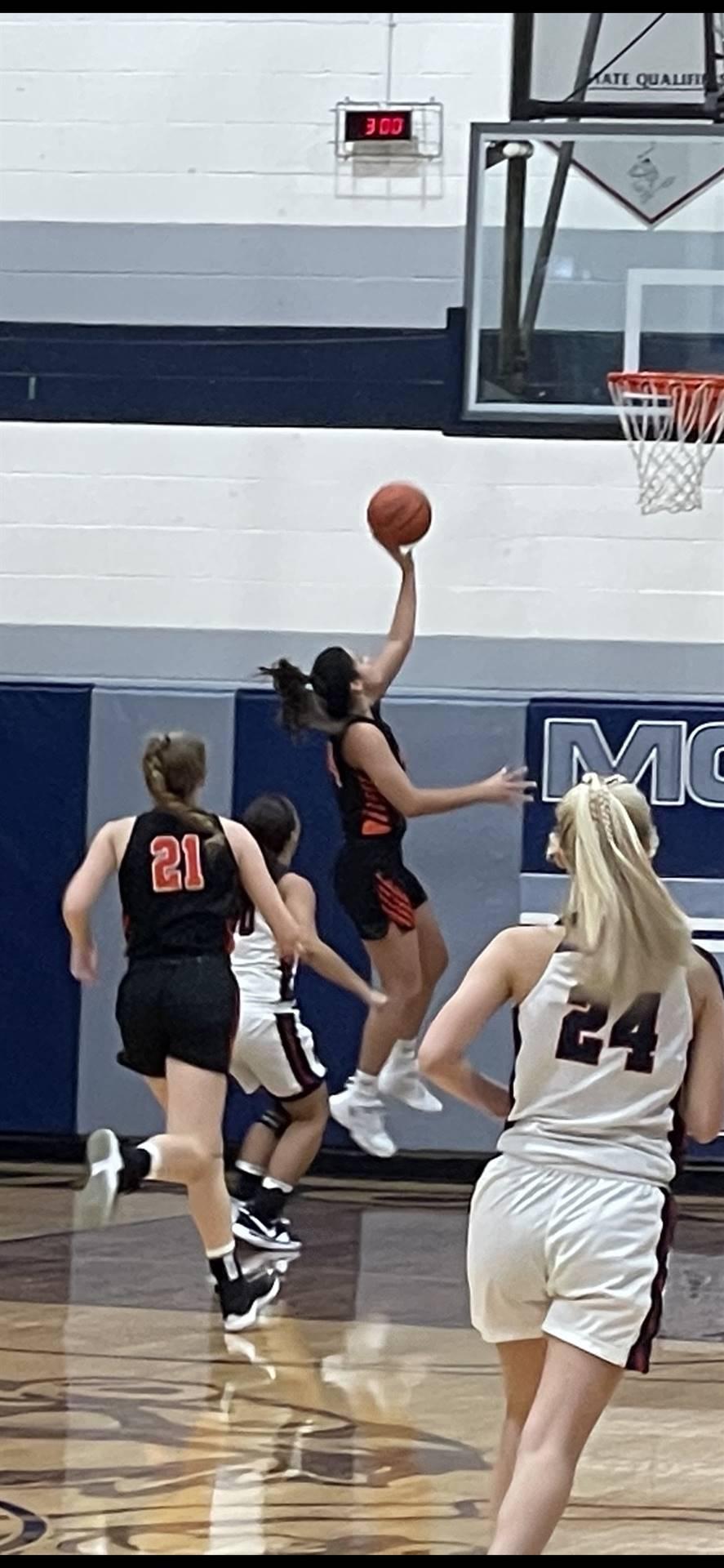 Varsity Girls Basketball taking on Morgan