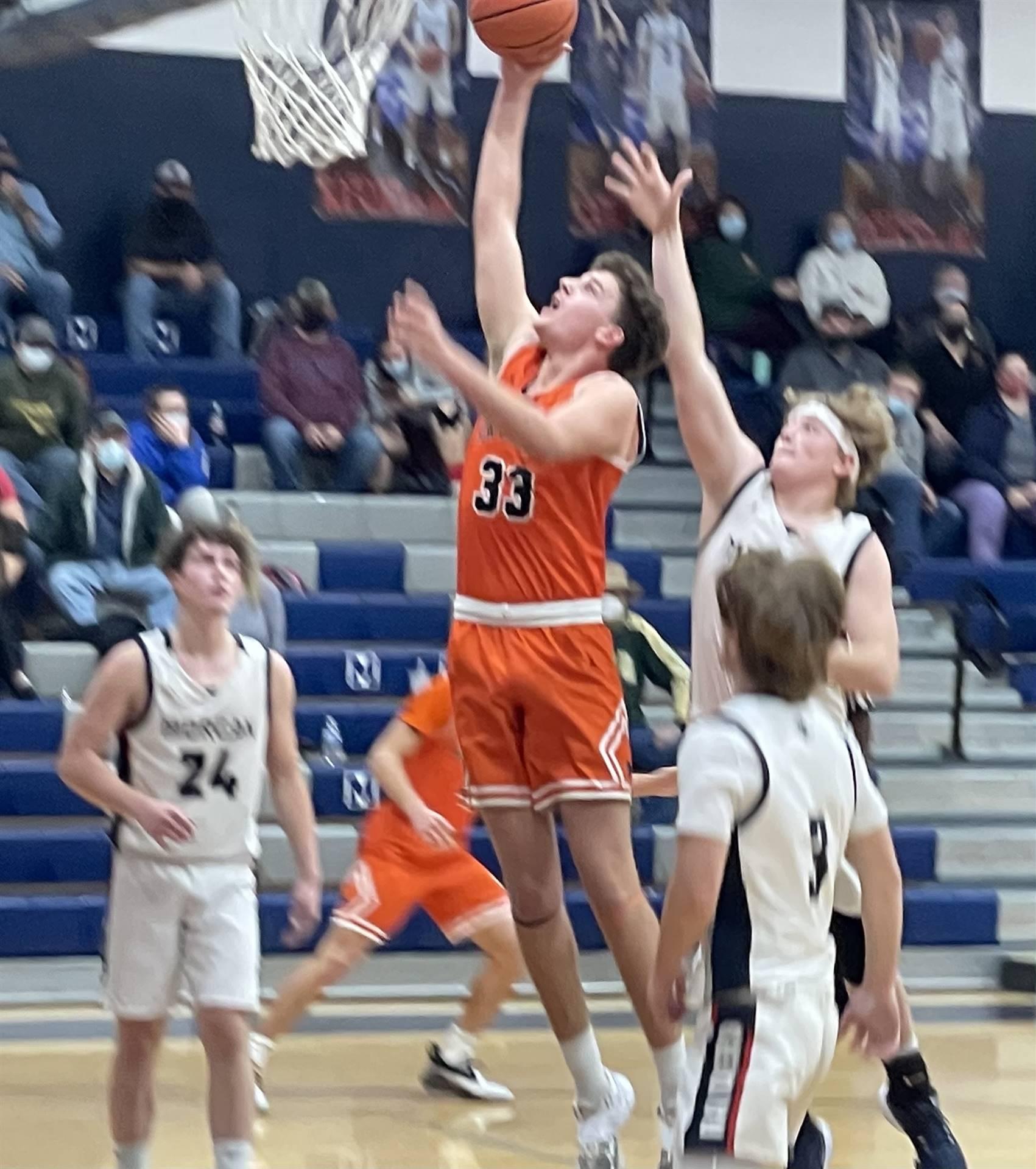 Varsity Boys Basketball taking on Morgan