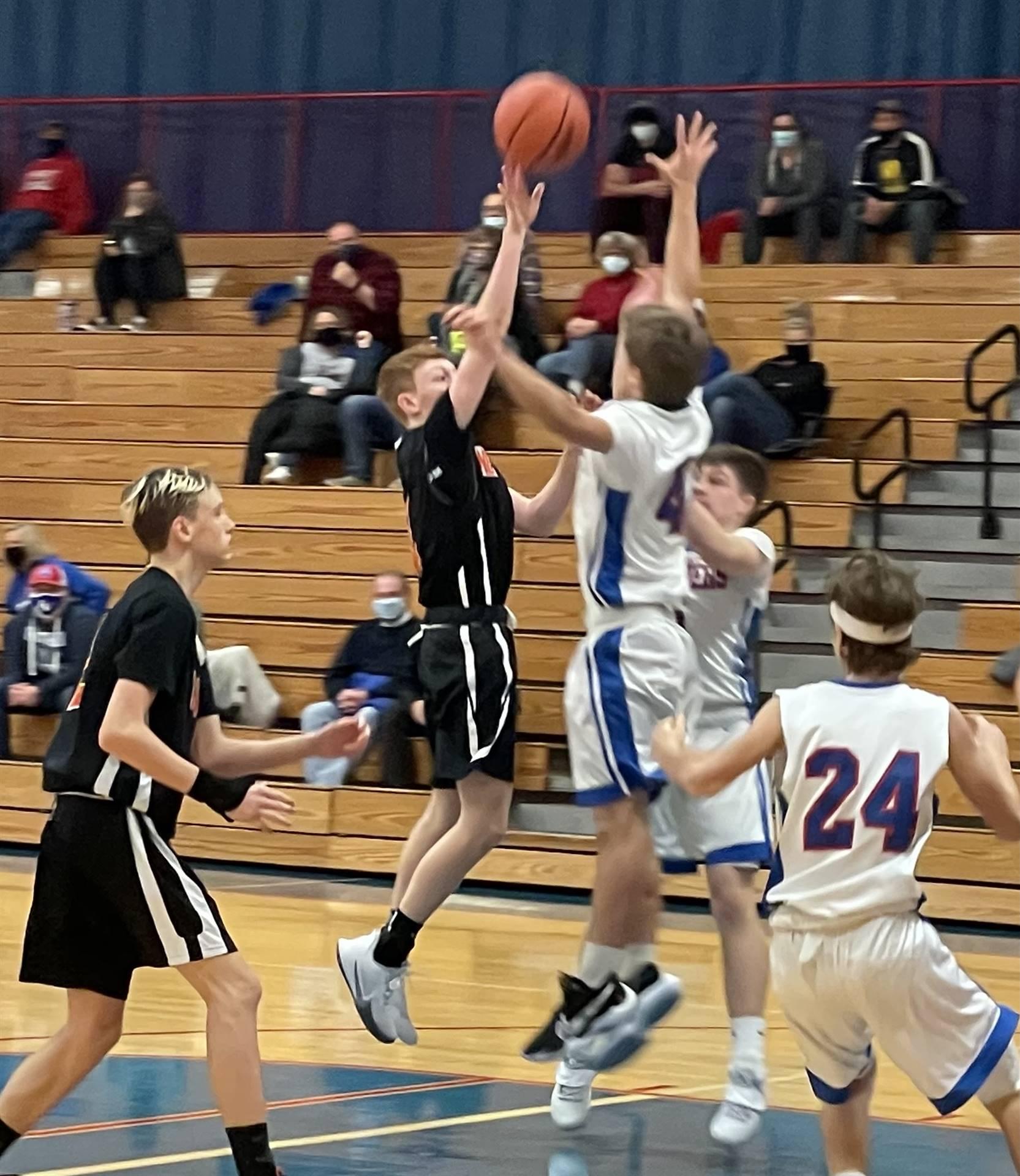 Freshman Basketball taking on Licking Valley