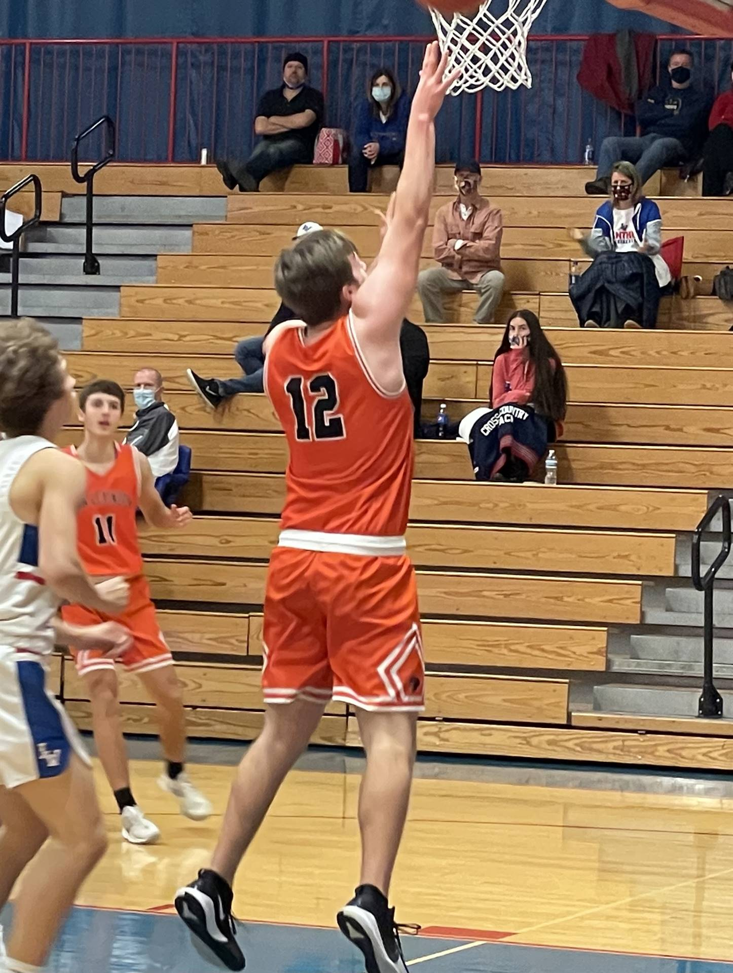 Varsity Basketball taking on Licking Valley