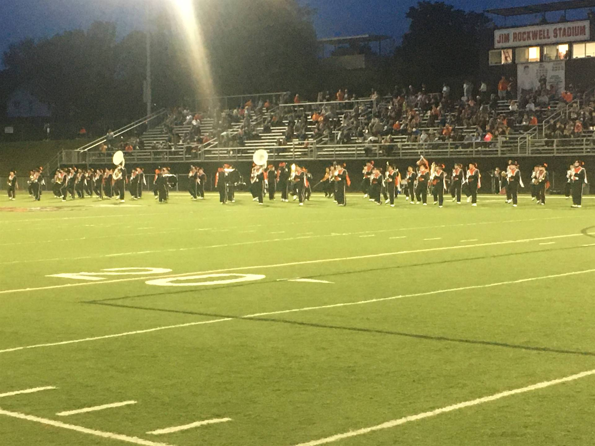 Marching Band at Home vs. Meadowbrook