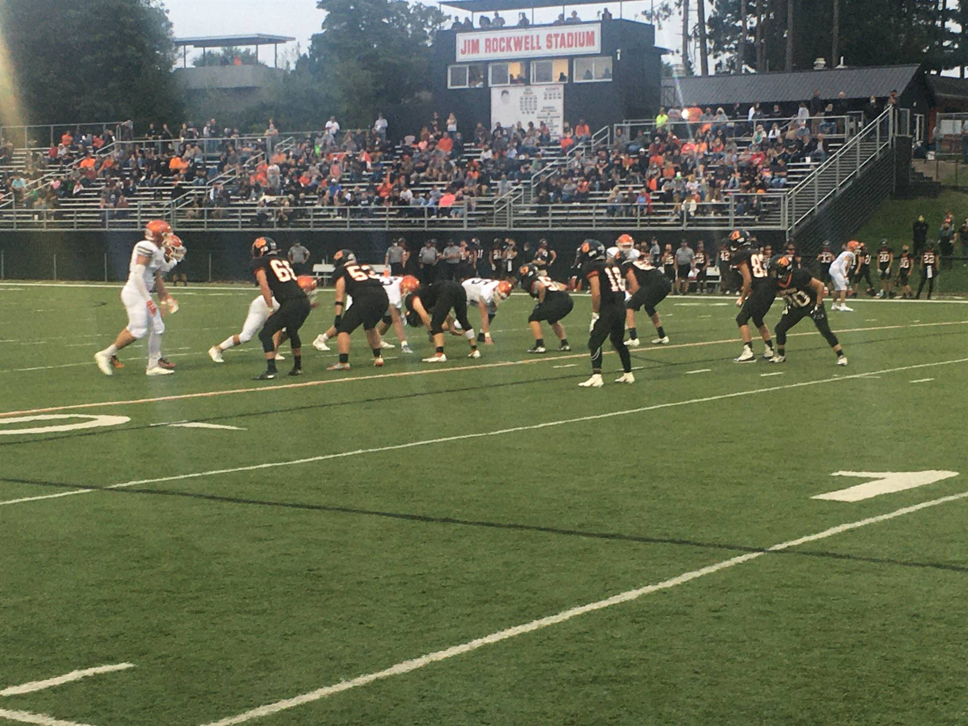 Varsity Football vs. Meadowbrook at home