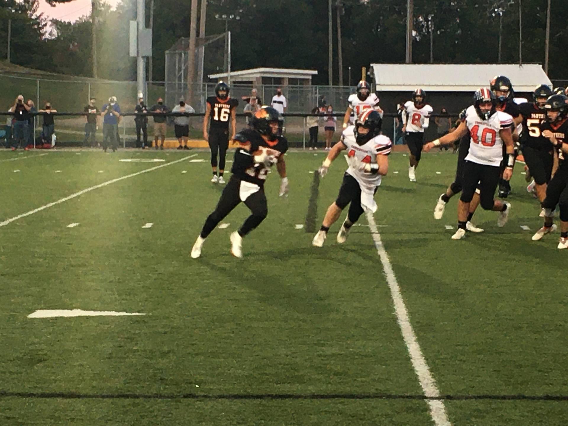Varsity Football taking on Crooksville at Home
