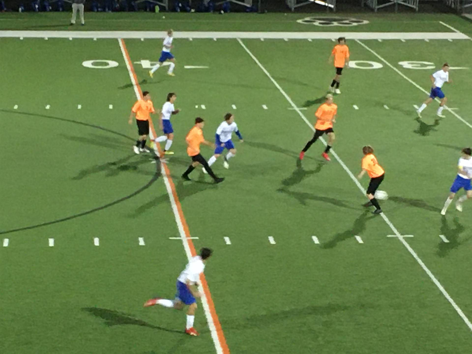 Boys Varsity Soccer taking on Philo at Home
