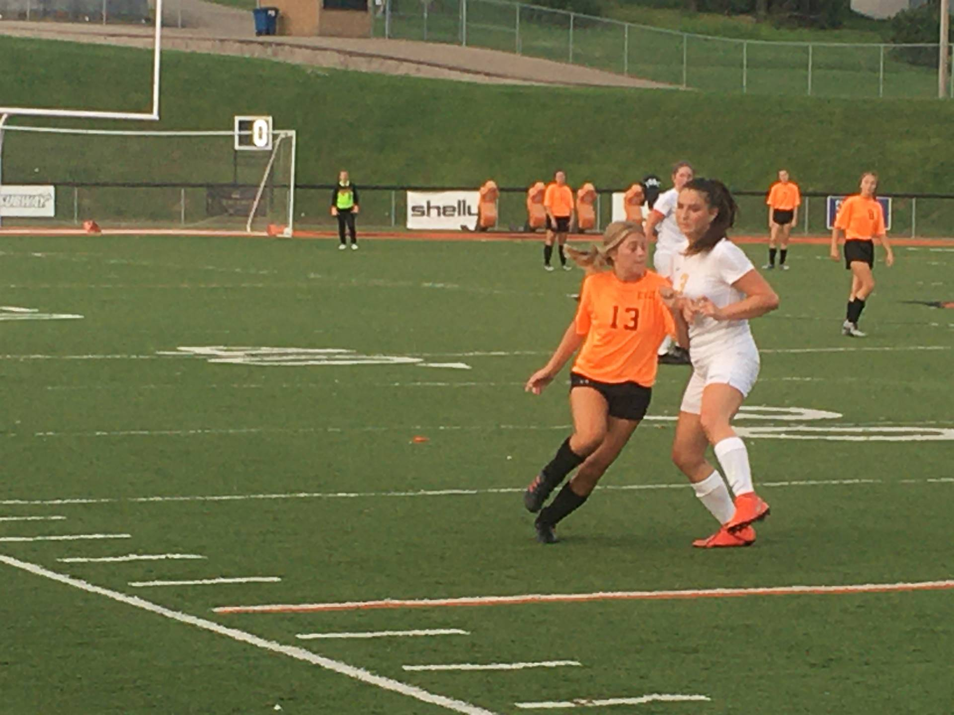 Varsity Girls Soccer vs Maysville