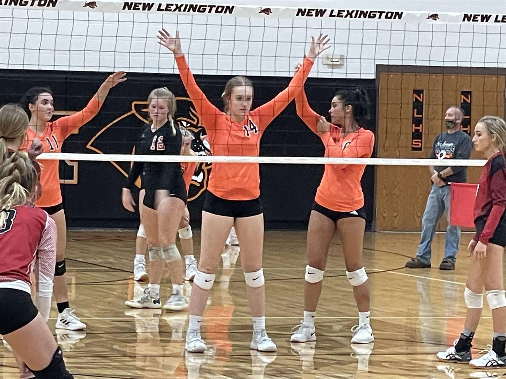 Varsity Volleyball taking on Crooksville