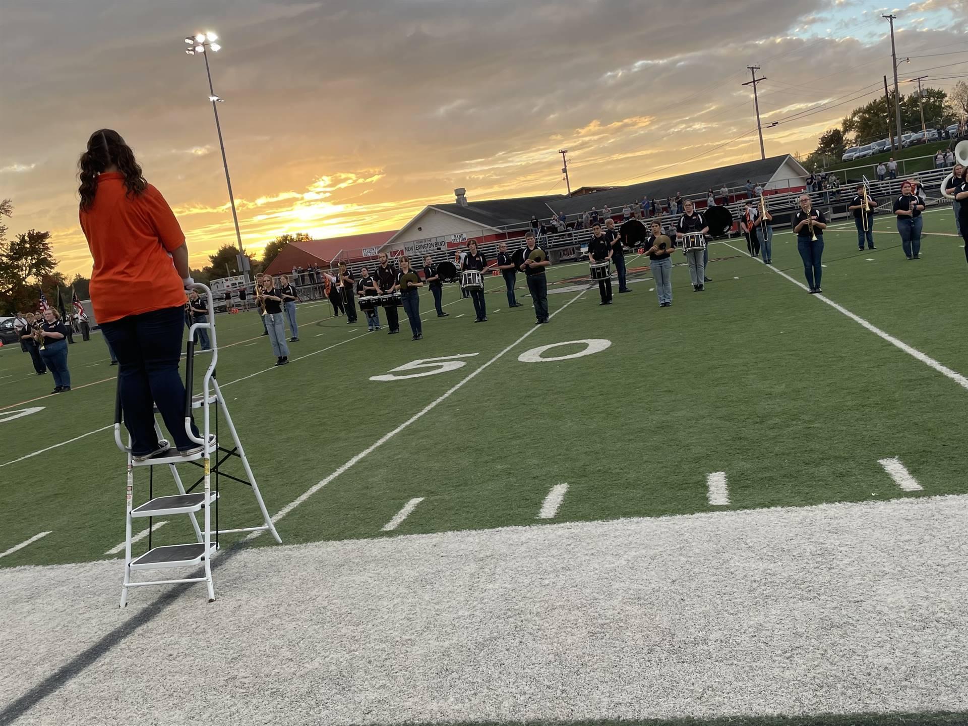 Marching Band at Home vs. Morgan