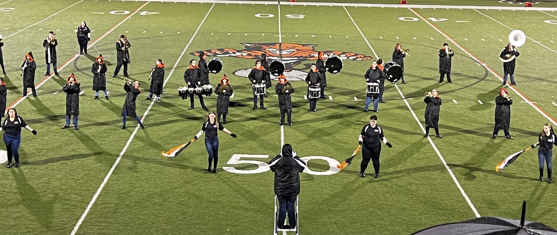 Marching Band at home vs. Crooksville
