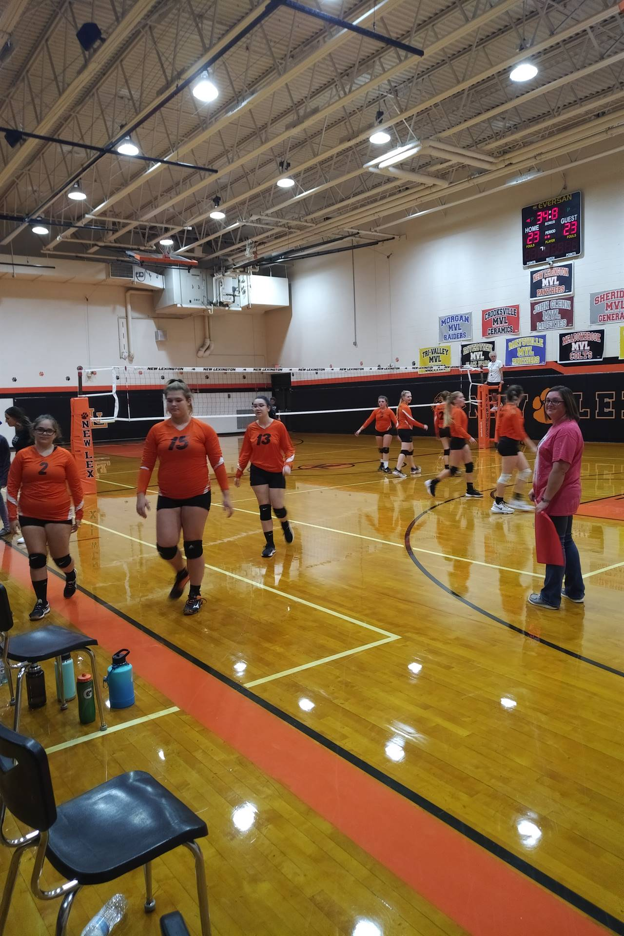 7th Grade VolleyBall Game