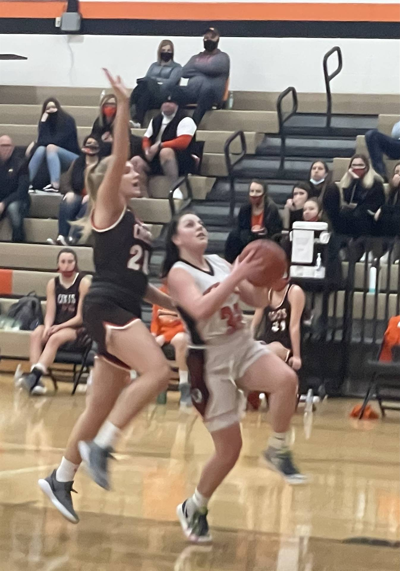 JV Basketball taking on Meadowbrook