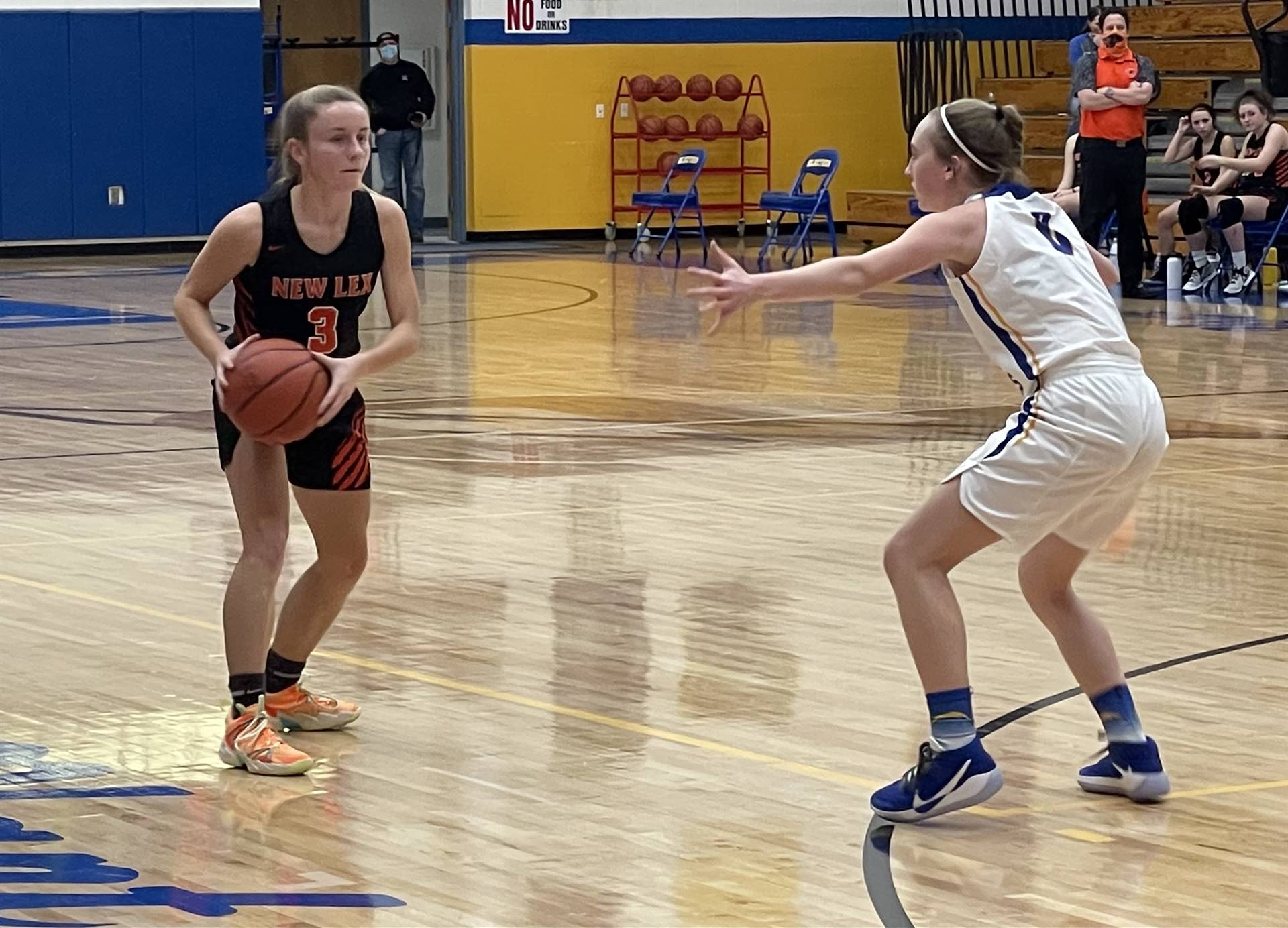Varsity Basketball taking on Philo
