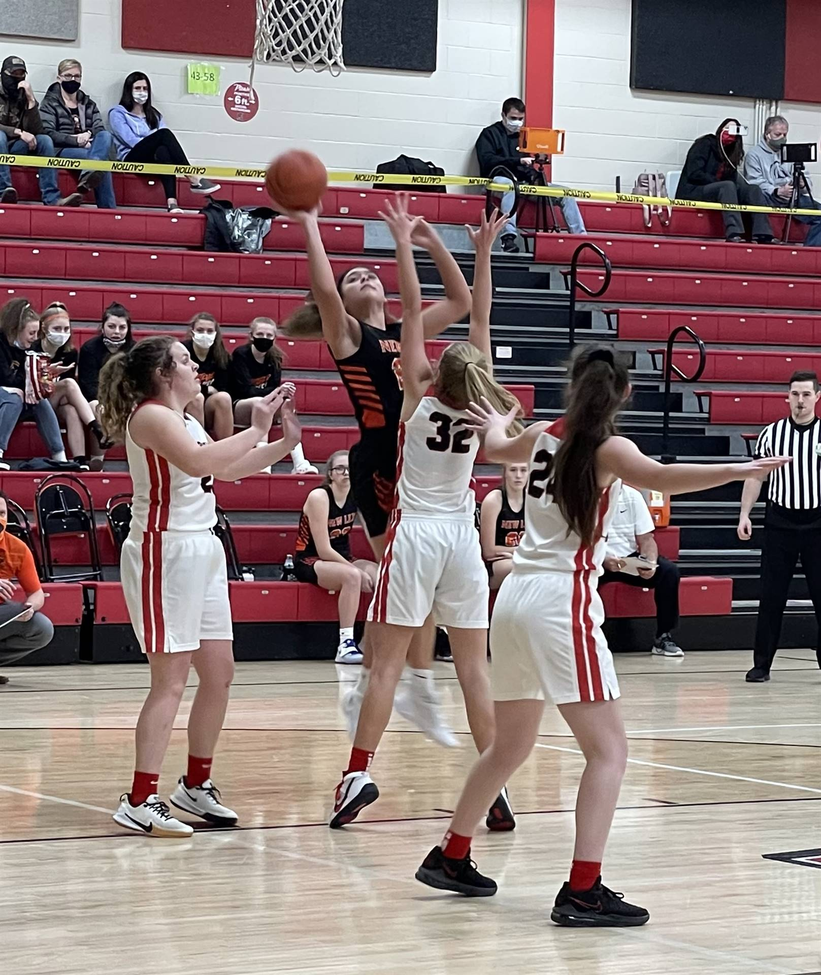 Varsity Girls Basketball taking on Alexander