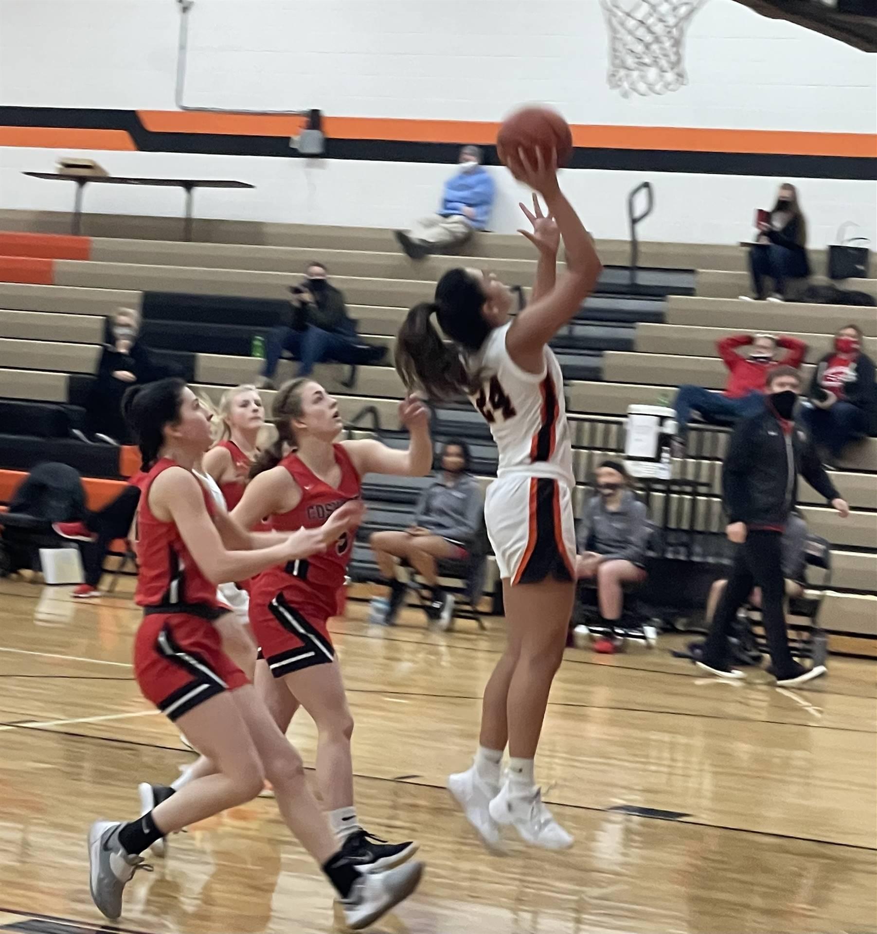 Varsity Basketball taking on Coshocton