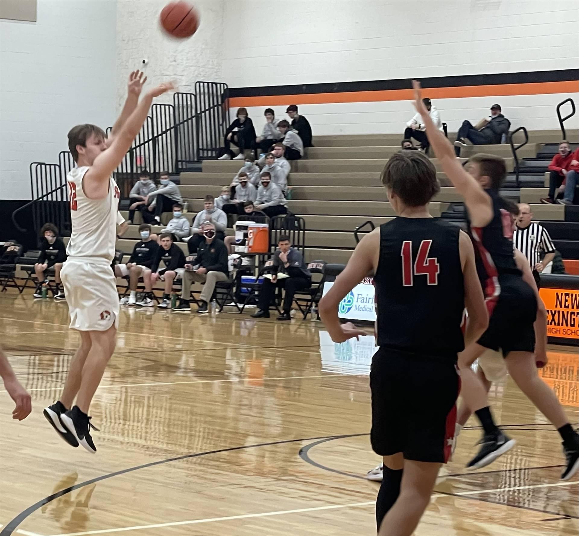 Varsity Basketball taking on Crooksville
