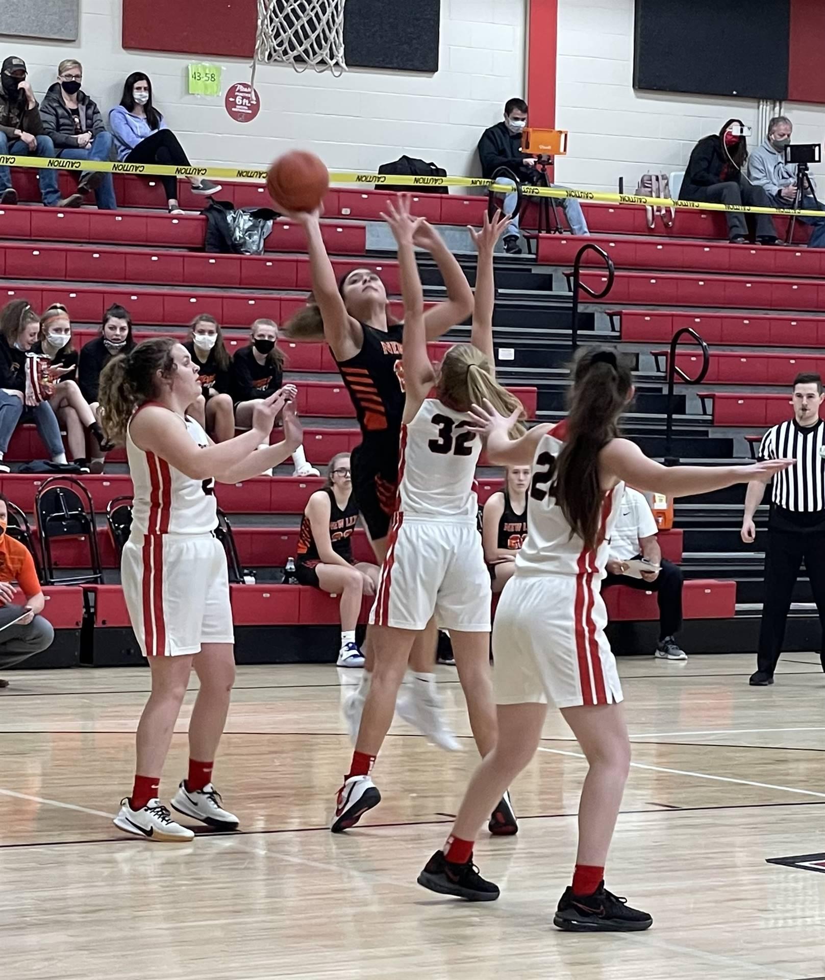 Girls Basketball taking on Alexander
