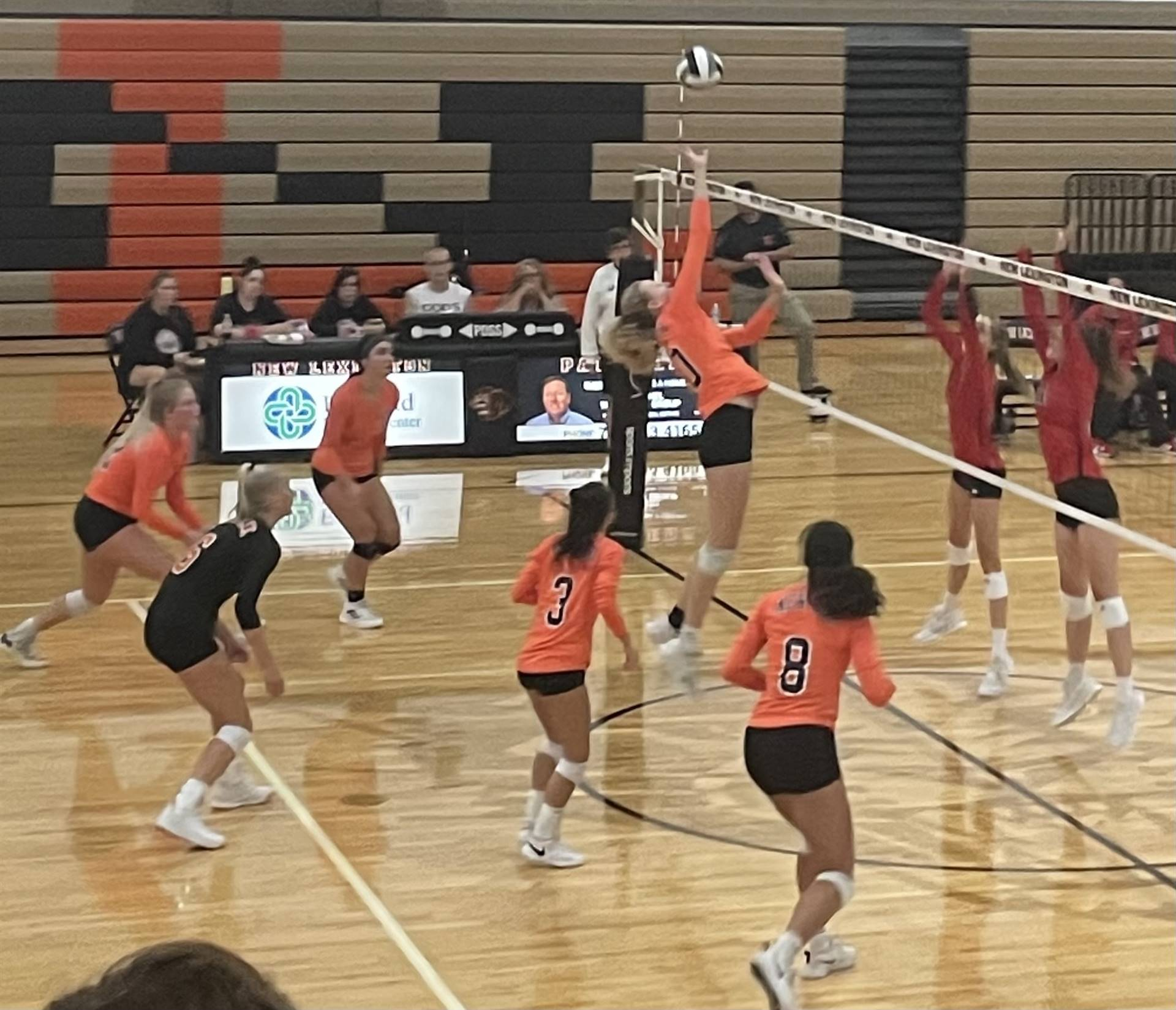 JV Volleyball Taking on Alexander at Home