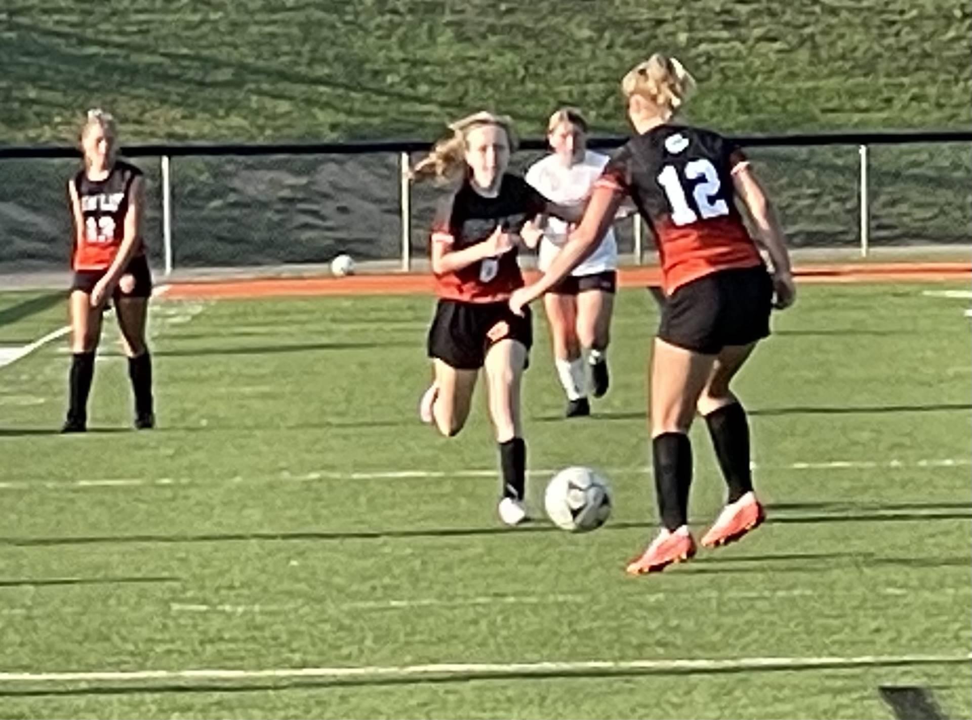 Girls Soccer Taking on Rosecrans at Home