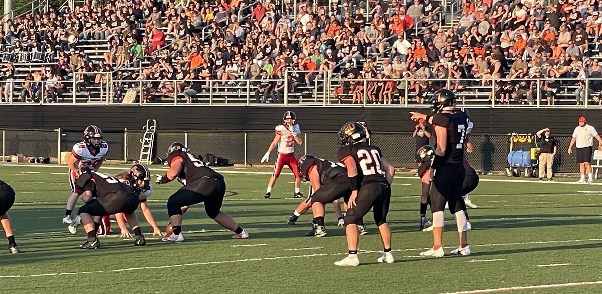 Varsity Football Taking On Fairfield Union