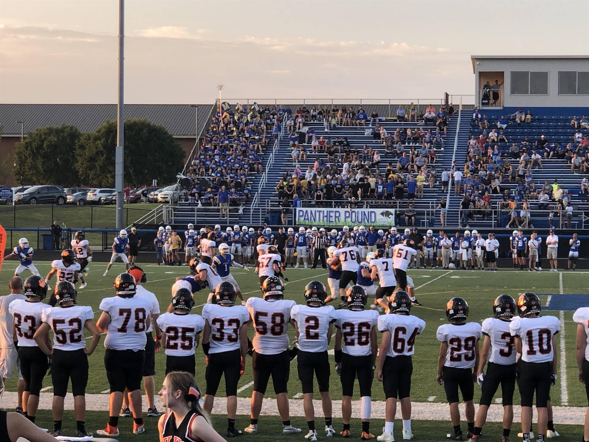 Varsity Football taking on Maysville